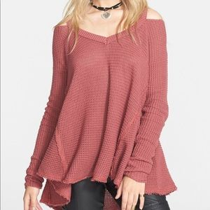 Free people moonshine pullover swing sweater xs